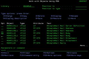 Wykorzystanie nowego skrótu na ekranie narzędzia PDM