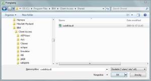 Transfer danych - plik dodatku